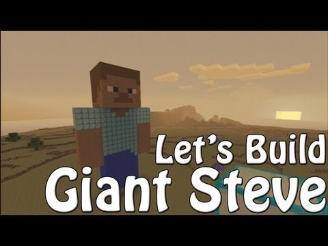 How To Build Giant Steve - Minecraft Xbox 360 Edition