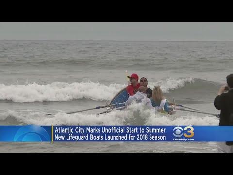 New Atlantic City Lifeguard Boats Launch For 2018 Season