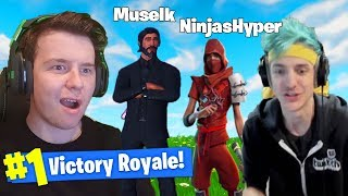 Duos With *NINJA* In Fortnite Battle Royale!