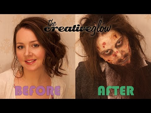 Zombie Hobo Costume Tutorial - How to Look Absolutely Gross