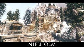 Tes V - Skyrim Mods: Niflholm - Hall Under The Mountain