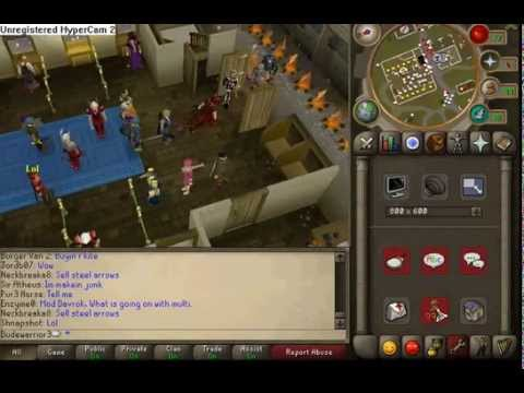3rd age armour in varrock
