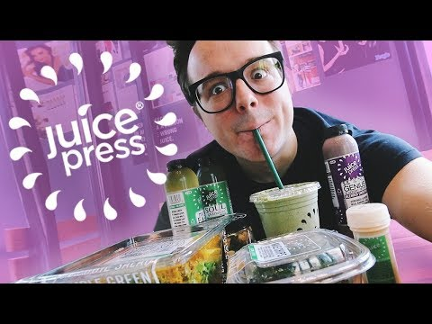 I lost 6 POUNDS in 5 DAYS!! 😱 Juice Press Cleanse