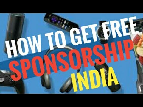 How to get sponsorship in india hindi with proof