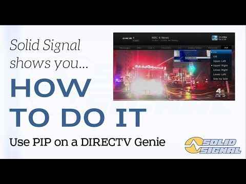 Use Picture in Picture (PIP) with your DIRECTV Genie DVR