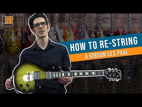 How to Change a String on a Les Paul