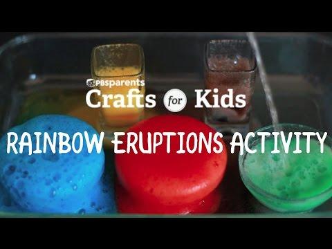 Rainbow Eruptions Activity