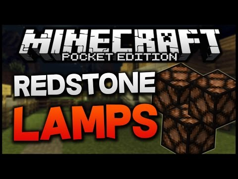 Minecraft PE 0.11.0 - Redstone Lamp MOD