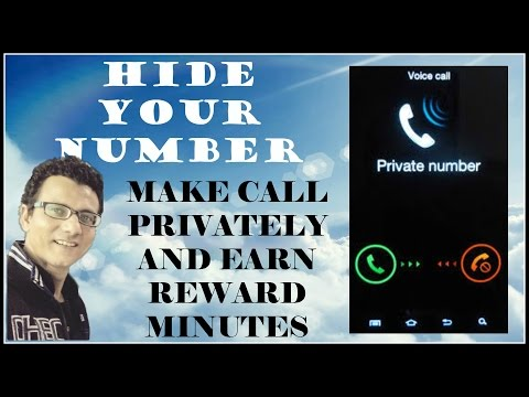 MAKE CALL PRIVATELY  HIDE YOUR PERSONAL NUMBER IN HINDI