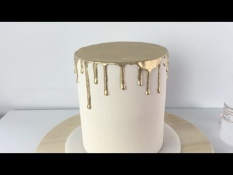 Create a stunning Golden Drizzle Cake
