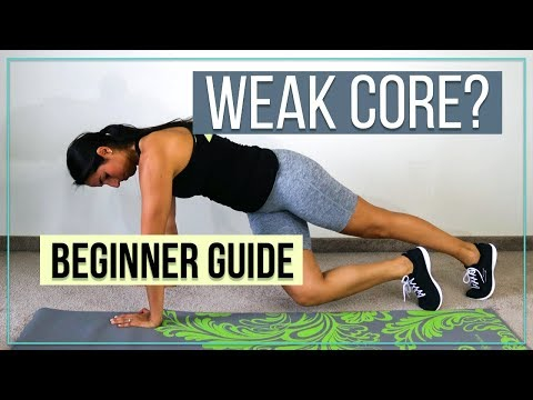 How to Strengthen a Weak Core (Step by Step Guide)