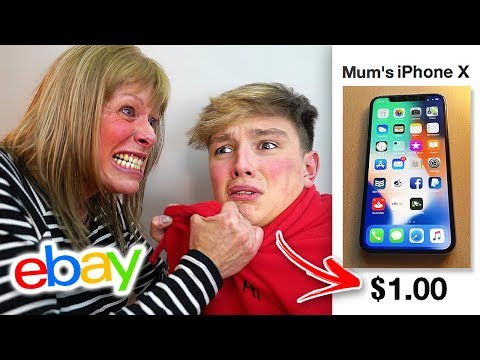 Kid Sells Mom's IPHONE for $1 on EBAY... [MUST WATCH]
