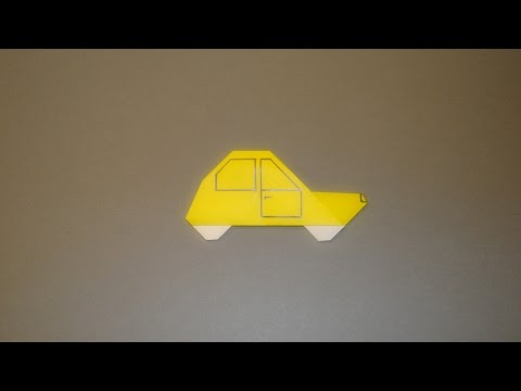 How To Make An Origami Car 03