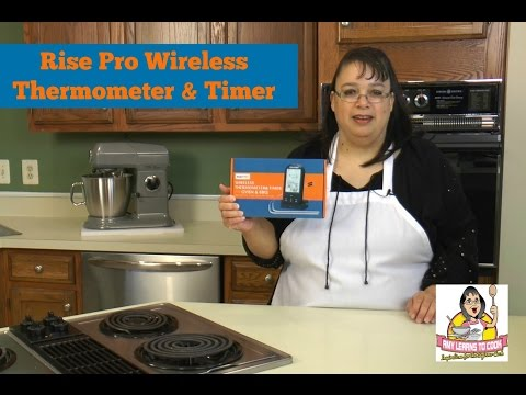 RISEPRO Wireless Thermometer & Timer ~ Digital Wireless Meat Thermometer Review ~ Amy Learns to Cook