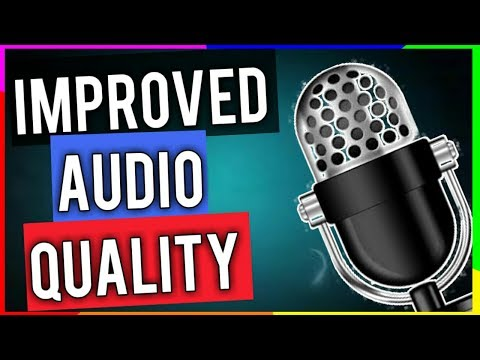 Improve your audio quality || loud and clear voice for youtube videos for gaming channels