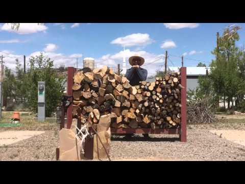 Make a Firewood Holder