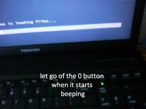 How to Reset a Toshiba Laptop to Factory Settings [READ DESCRIPTION ITS CRUCIAL]