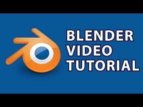 Blender Tutorial 9 : Blender Modeling