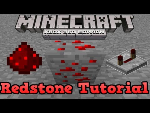 Minecraft Xbox 360   Redstone Tutorial (Redstone Logic Gates)