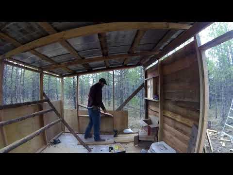 Nesting box- Chicken coop build.