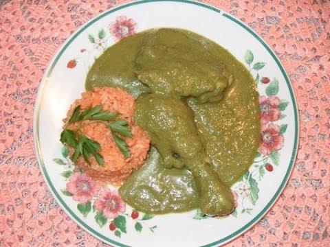 Cómo preparar un rico mole verde (pipían) - La receta de la abuelita