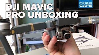 DJI MAVIC PRO unboxing and indoor flight