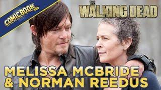 Norman Reedus Bombs Melissa McBride's Walking Dead Interview