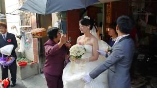 結婚記錄影像-新娘咩出嫁-拜別父母恩篇