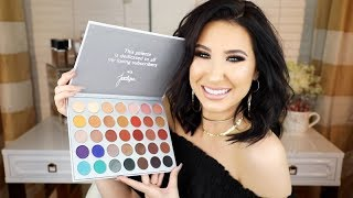 the jaclyn hill x morphe palette reveal swatches
