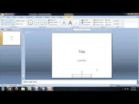 How to Remove a Hidden Footer From Microsoft Powerpoint : Tech Niche