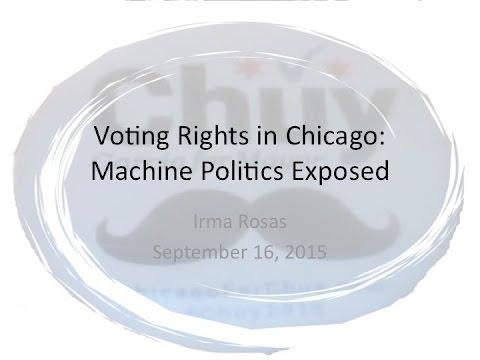 Voting Rights in Chicago: Machine Politics Exposed