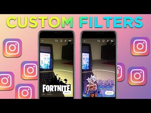 GET CUSTOM INSTAGRAM FILTER!! 2018 NO JAILBREAK iOS 11