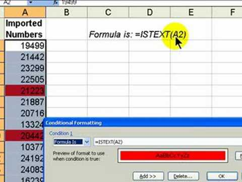 Excel's Conditional Formatting Dynamically Highlights Data