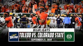 Download Toledo vs. Colorado State Football Highlights (2019) | Stadium Video