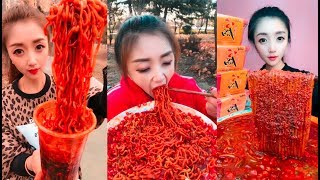 EXTREME SPICY NOODLE CHALLENGE - SPICY FOOD COMPILATION [01]