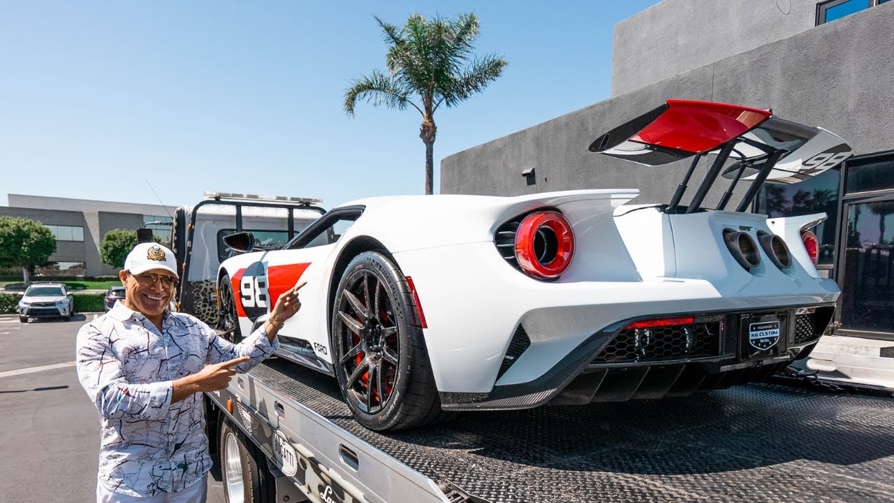 SENDING OUT MY HERITAGE EDITION FORD GT!    Manny Khoshbin