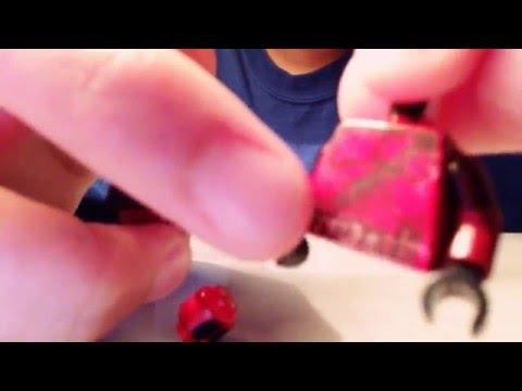 How to make a custom DeadPool Lego mini figure