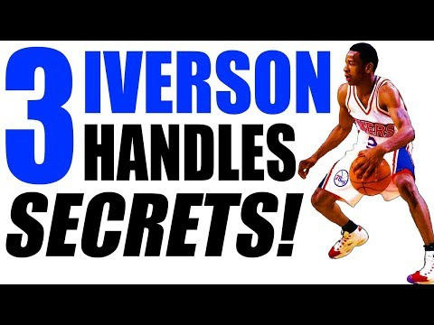How To Dribble Like ALLEN IVERSON! 3 Secrets: Crossover, Highlights, Ankle Breakers