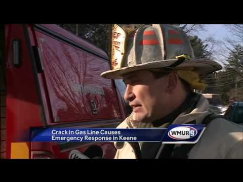 Crack in gas line causes emergency response in Keene
