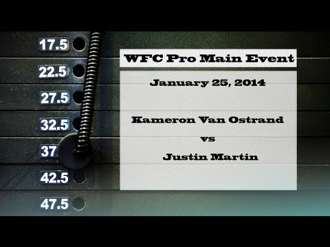 Justin Martin vs Kameron Van Ostrand - 1/25/14 MMA Fight HD