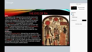 The Eye Of RA | The Making Of Civilization | GABZ