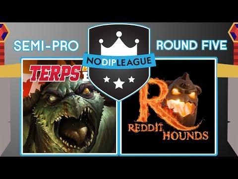 Terps Win B1G VS Reddit Hounds - No Dip League - Clash of Clans