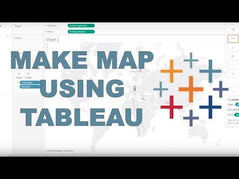 How to make a map with latitude and longitude locations?