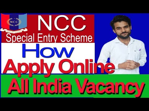 How to Join NCC Special Entry in Indian Army All India Vacancy Apply Online
