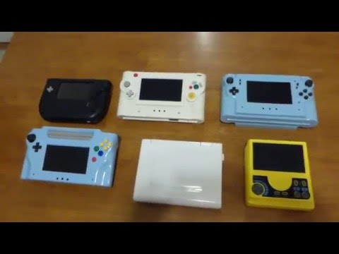 My Collection of Home made Video Game Handhelds N64 Genesis PS2 Gamecube PC Engine LT-2 + Wii Laptop