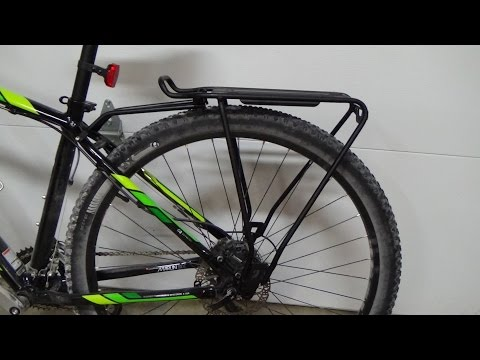 Bike Backrack Installation -  Bicycle Rack