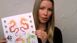 How To Make Your Own Temporary Tattoos (inkjet Printers)