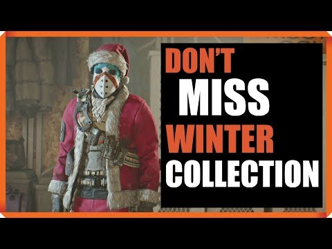 The Division | 1.8 | DON'T FORGET TO OPEN NEW ENCRYPTED CACHE FOR WINTER COLLECTION