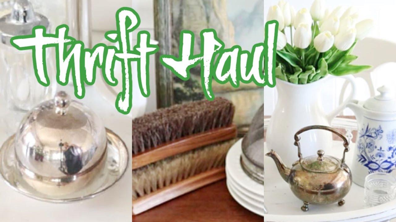 FANTASTIC Thrift Haul | Thrift Store Thursday #144  |  Thrifted Vintage Home Decor Haul