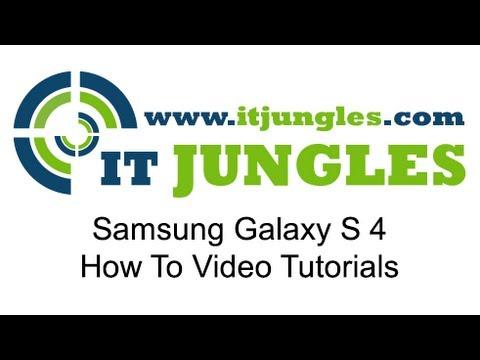 Samsung Galaxy S4: How to Take Screenshot